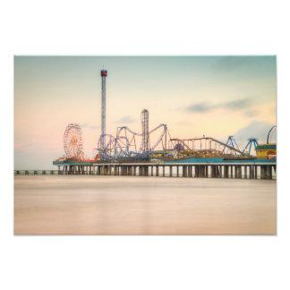 Galveston Pleasure Pier Photo Print
