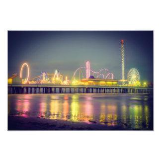 Galveston Pleasure Pier Photo Art
