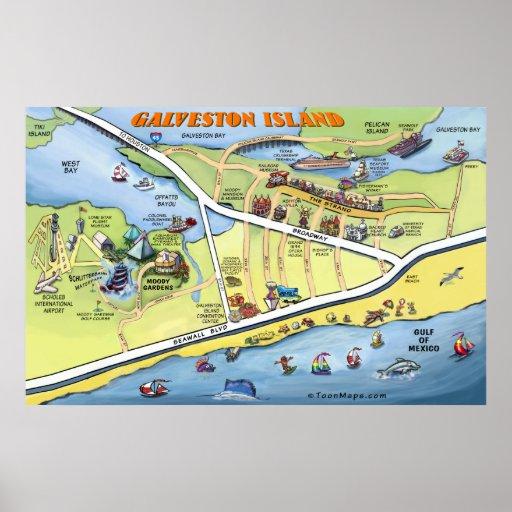 Galveston Print