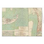 Galveston, puerto de Charleston, puerto el Hudson Tarjeta De Felicitación
