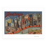 Galveston, Tejas - escenas grandes de la letra Postal