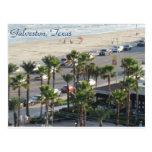 Galveston, Tejas Postcard-3 Tarjeta Postal