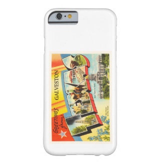 Galveston Texas TX Old Vintage Travel Souvenir Barely There iPhone 6 Case