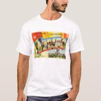 Galveston Texas TX Old Vintage Travel Souvenir T-Shirt
