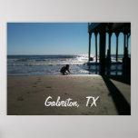 Galveston, TX Poster