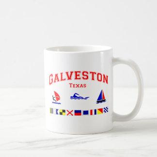 Galveston TX Signal Flags Coffee Mug