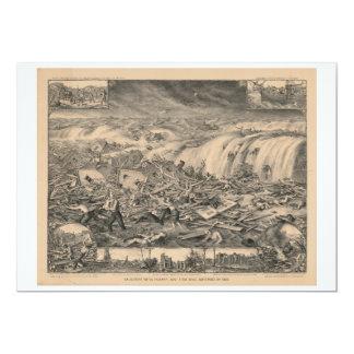 Galveston's Awful Calamity Gulf Tidal Wave (1900) Card