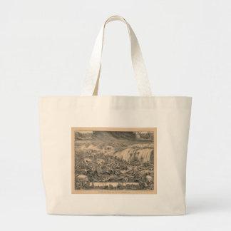 Galveston's Awful Calamity Gulf Tidal Wave (1900) Large Tote Bag
