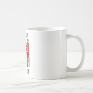 Galvin Coat of Arms Classic White Coffee Mug