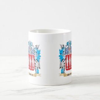 Galvin Coat of Arms - Family Crest Classic White Coffee Mug