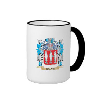 Galvin Coat of Arms - Family Crest Ringer Coffee Mug