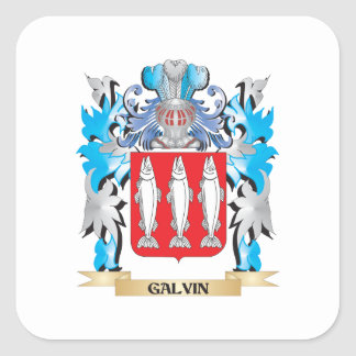 Galvin Coat of Arms - Family Crest Stickers