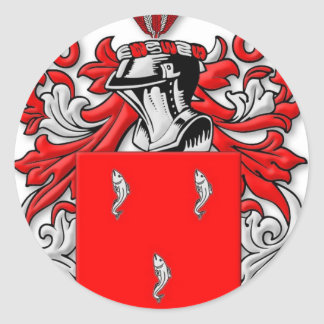 Galvin Coat of Arms Round Sticker