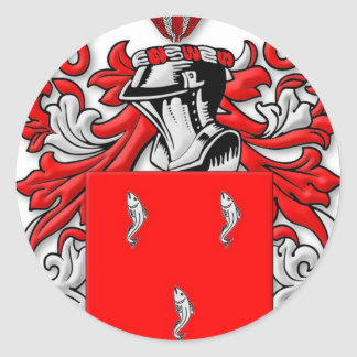 Galvin Coat of Arms Stickers
