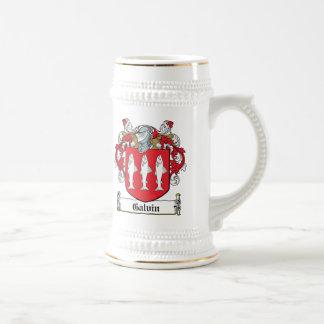 Galvin Family Crest Beer Stein