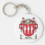 Galvin Family Crest Keychains