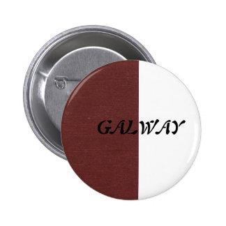 Galway Badge 2 Inch Round Button