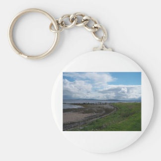 Galway Bay from the Claddagh Keychain