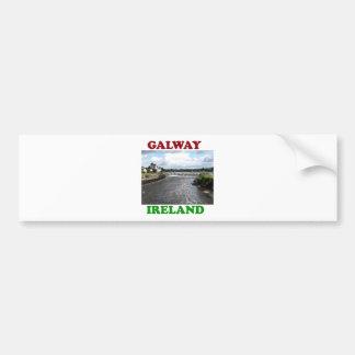 Galway Ireland 3 Bumper Sticker