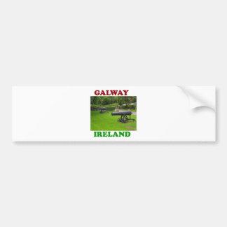 Galway Irlanda 2 Pegatina Para Auto