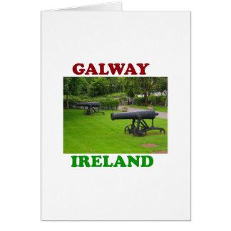 Galway Irlanda 2 Tarjeta De Felicitación