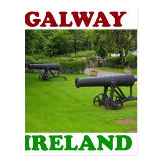 Galway Irlanda 2 Tarjetas Postales