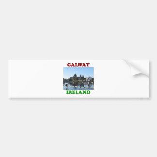 Galway Irlanda Pegatina Para Auto