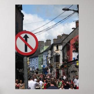 Galway, Irlanda Póster