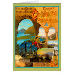 Galway Travel Poster Greeting Card