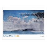 Galways y para siempre tarjetas postal