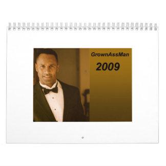 """GAM - calendario 2009 - estándar (11"""" X 17"""")"""