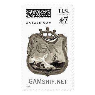 GAM Shield Postage