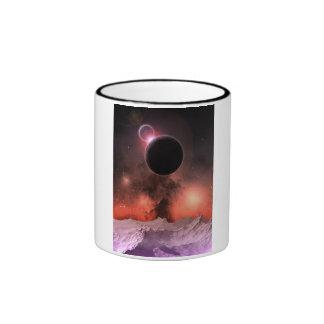 Gama cósmica #2 taza a dos colores