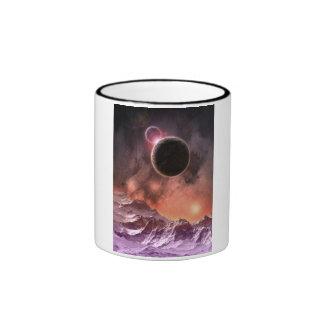 Gama cósmica taza a dos colores