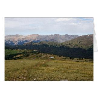 Gama de Gore, Parque Nacional de las Montañas Tarjeta De Felicitación