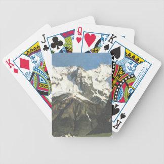 Gama de Isaac Levitan- de montañas, Mont Blanc Baraja De Cartas