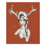 Gama de Jane el 16in los x 20in Poster