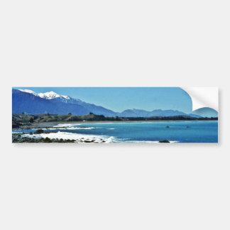 Gama de Kaikoura, isla del sur Pegatina Para Auto