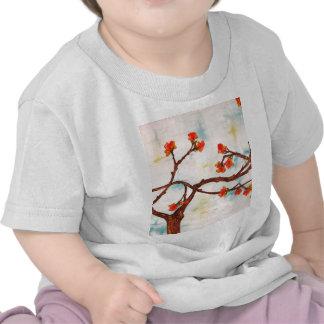 Gama de la floración camisetas
