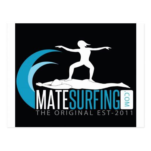 Gama de MateSurfing Tarjeta Postal