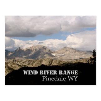Gama de Wind River Postales