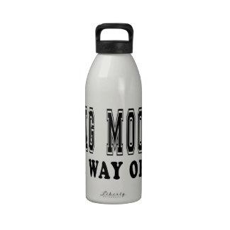 Gama del MOO de Chungkin es manera de vida Botellas De Beber