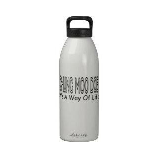 Gama del MOO de Chungkin es una manera de vida Botella De Agua Reutilizable
