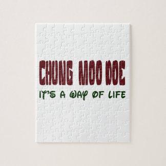 Gama del MOO de Chungkin es una manera de vida Rompecabeza Con Fotos