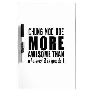 Gama del MOO de Chungkin más impresionante que lo Pizarras Blancas De Calidad