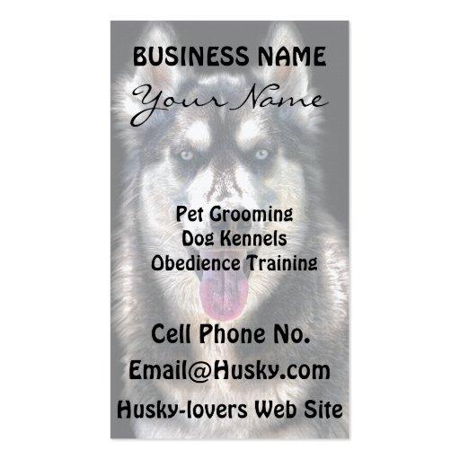 Gama del regalo del mascota de los Perro-amantes d Tarjetas Personales