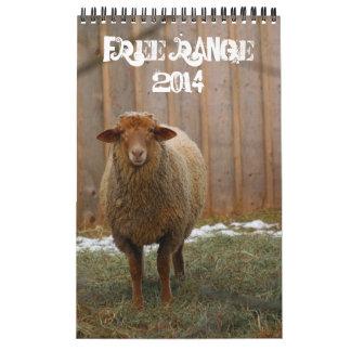 ¡Gama libre Calendarios