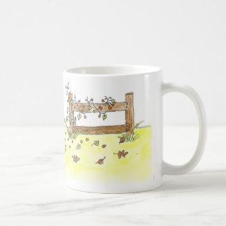 Gama libre taza básica blanca