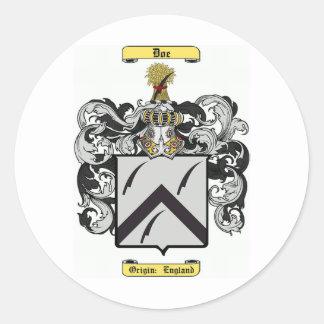 Gama Pegatina Redonda