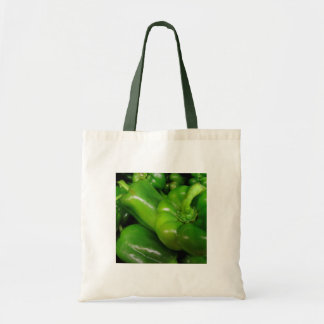 Gama verde del regalo de los paprikas bolsas
